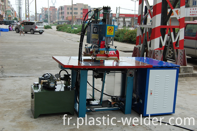 8KW double head Hydraulic welding machine